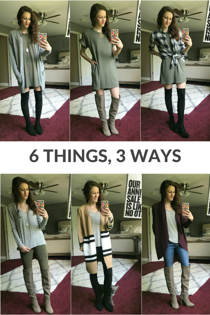 6 Things, 3 Ways (Nordstrom Anniversary Sale Edition)