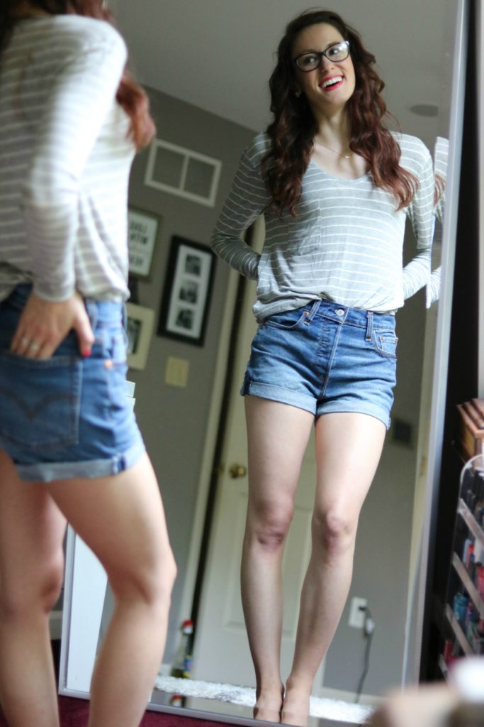 Levi's Wedgie Shorts - Things I Love July