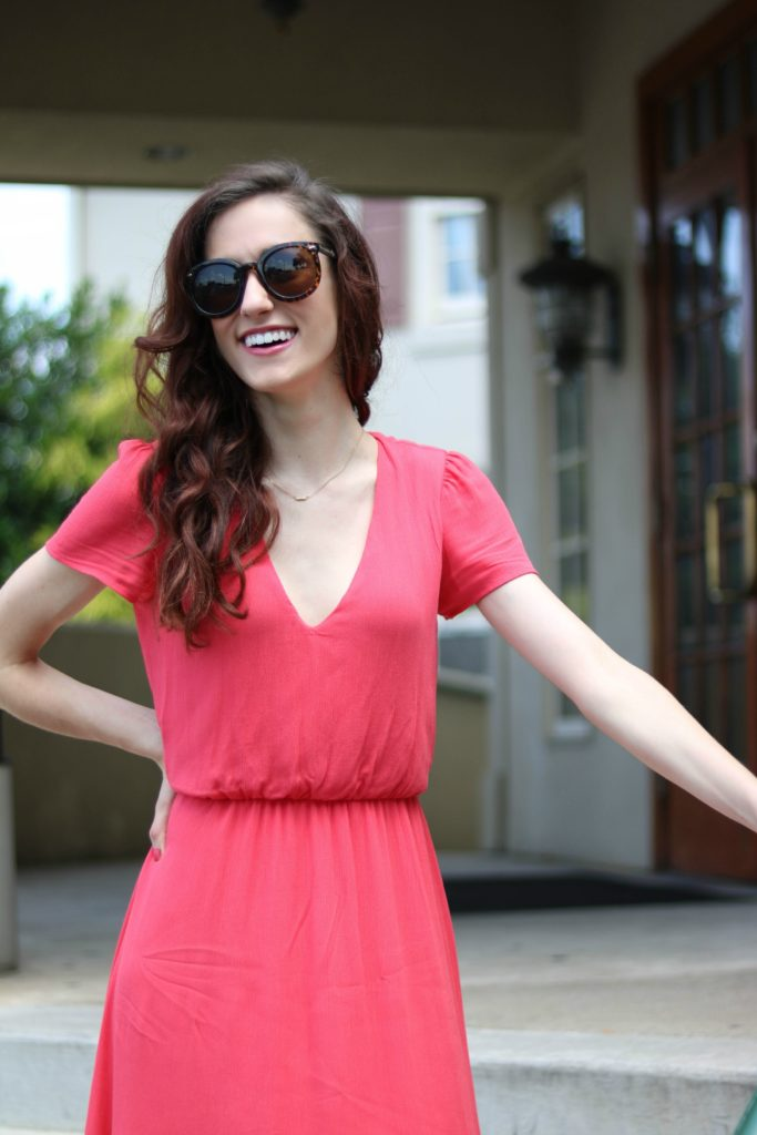 Fifteen Favorite Things, 40% off Coral Dress, + Valentino Rockstud DUPES!