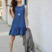 Trend to Try: Chambray Dress