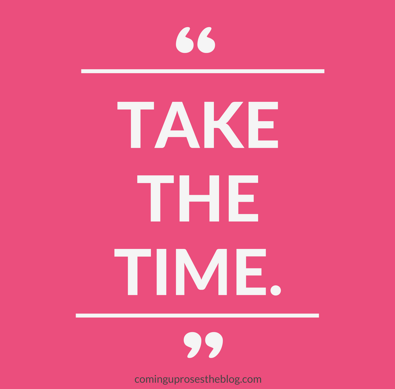 """""""Take the Time."""" + LABOR DAY SALES"""