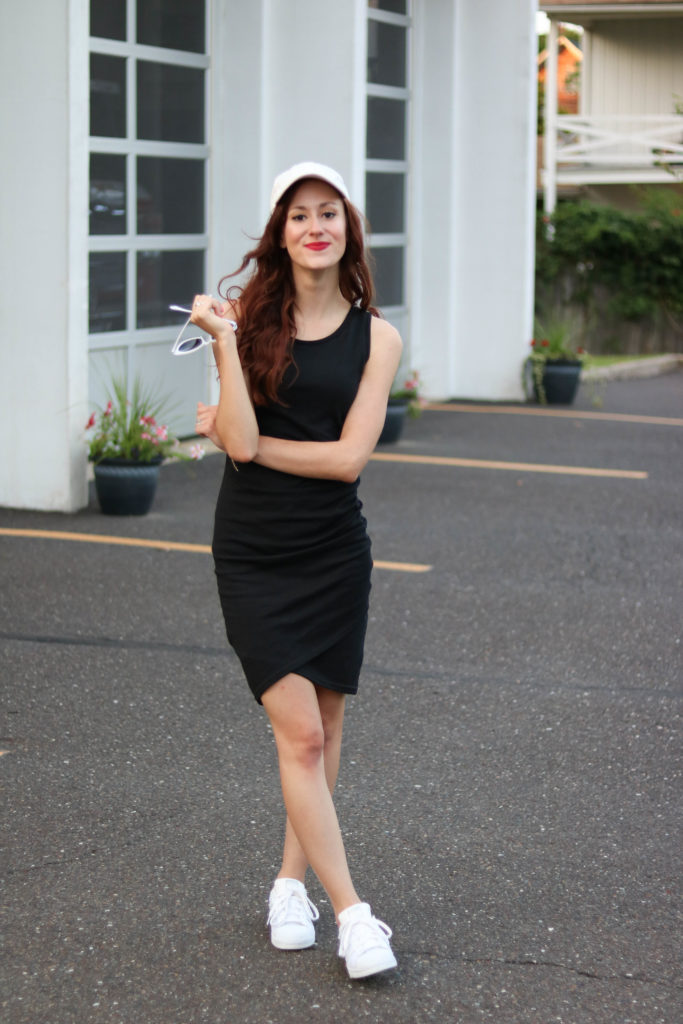 1 Thing, 3 Ways: Ruched Bodycon Dress (the most flattering dress ever)
