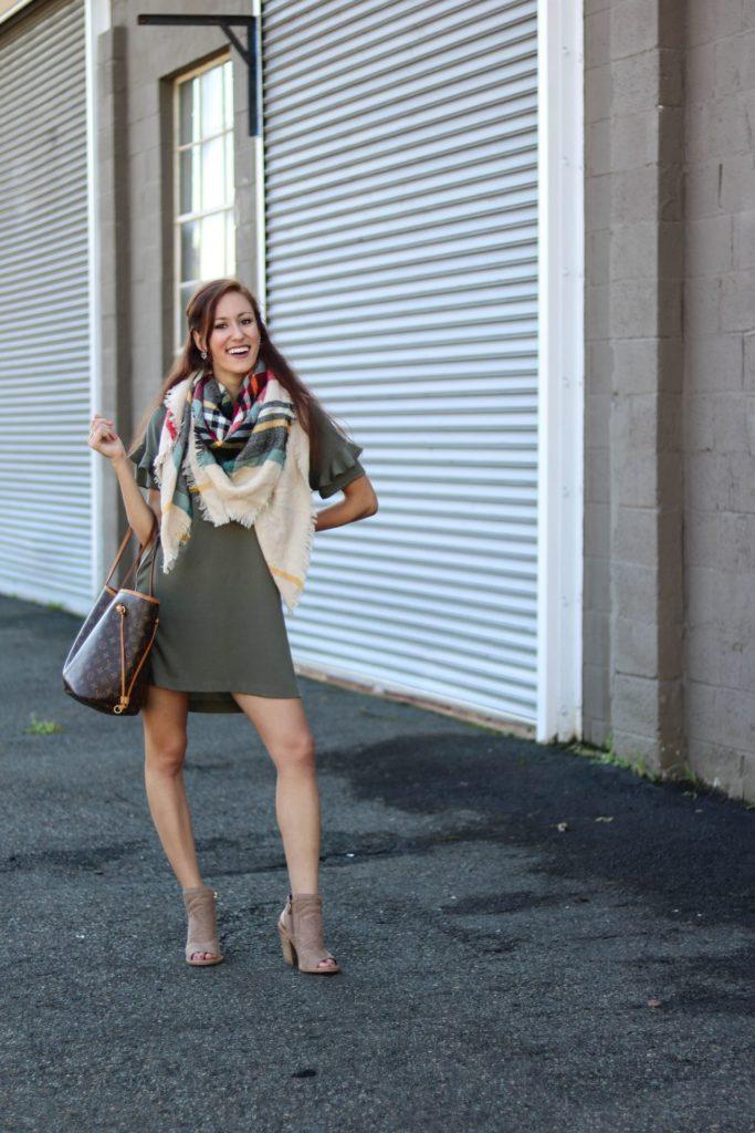 5 Fall Essentials + the BEST $39 T-shirt Dress