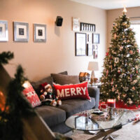 My Christmas Home Decor Tour + 7 Tips for Safe Decorating