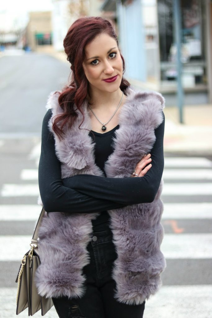 CHIC Winter Layering 101 - How to Layer in Winter without looking Bulky! by popular Philadelphia fashion blogger Coming Up Roses