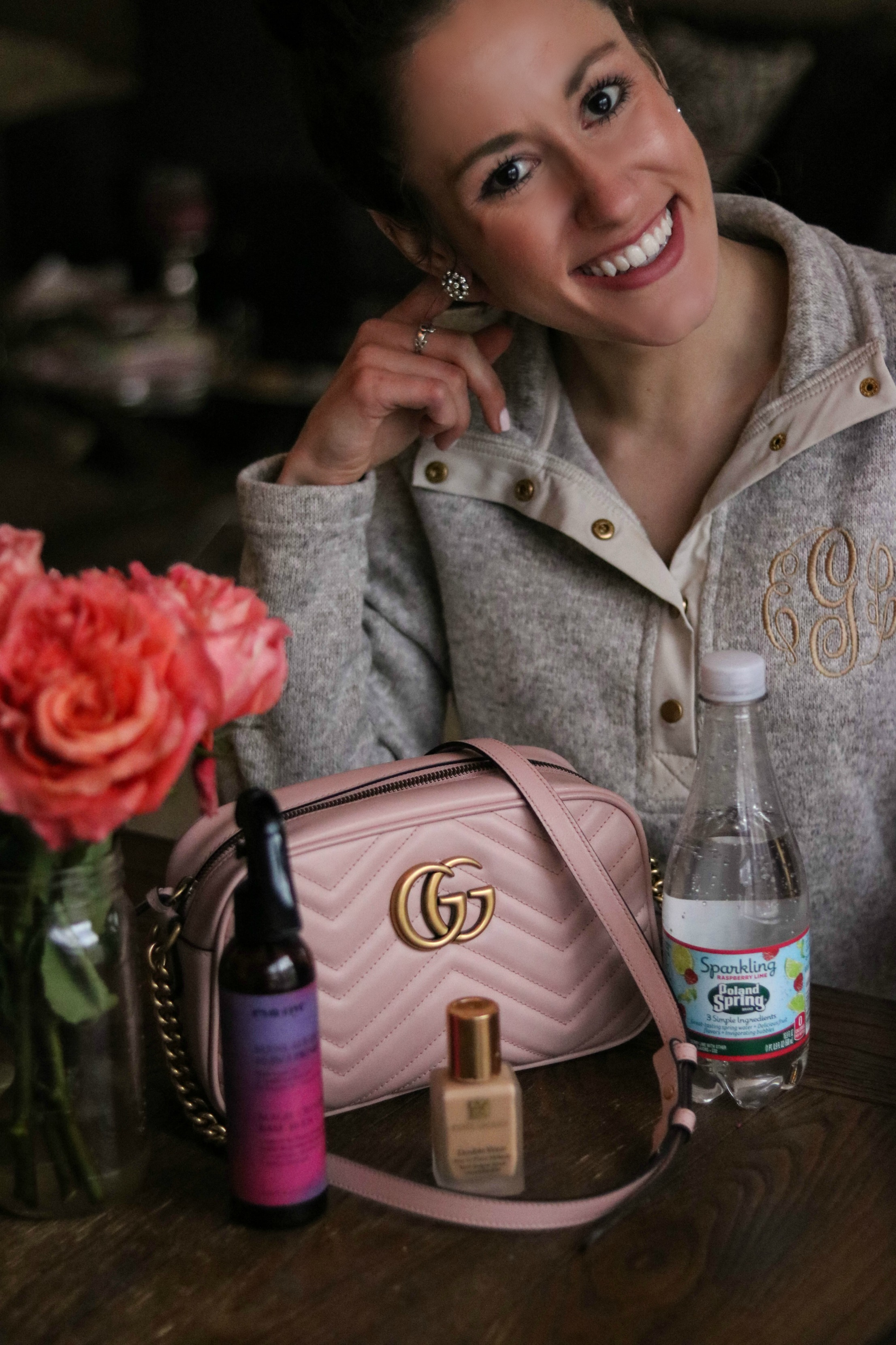 Cool Sh*t I Lovelovelove - Things I Love, Gucci Bag, Estee Lauder Double Wear, Monogram pullover, + MORE. - Cool Things I Love, January 2018 by popular Philadelphia style blogger Coming Up Roses