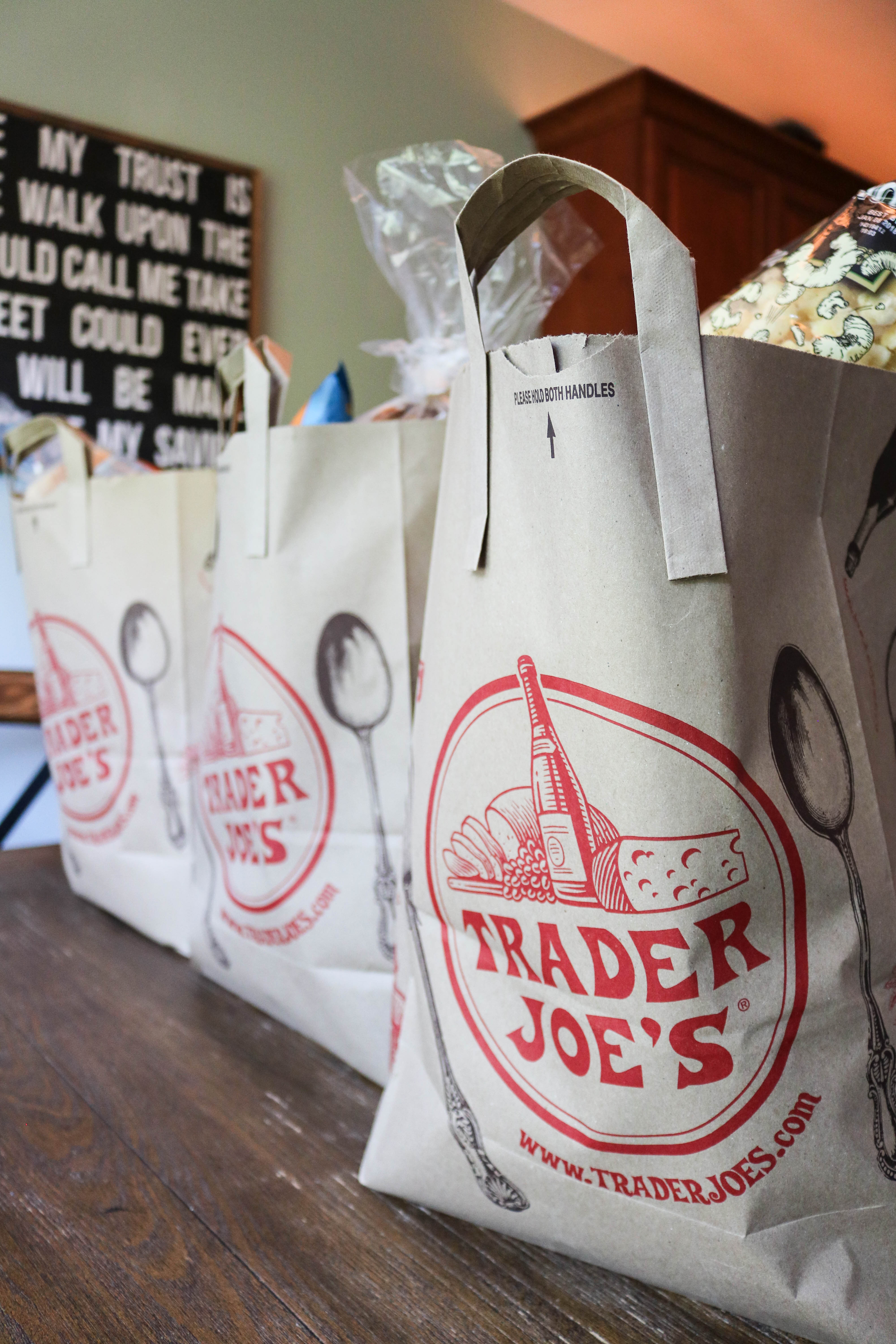 What I Buy at Trader Joe's - Trader Joe's Grocery Haul! - My Trader Joes Shopping List by popular Philadelphia lifestyle blogger Coming Up Roses
