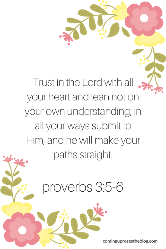 Trust in God Bible Verse - Trust in God by popular Philadelphia lifestyle blogger Coming Up Roses