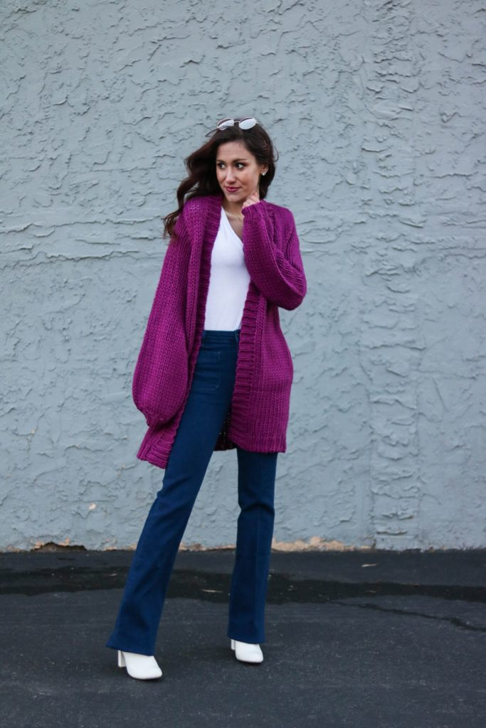 70's inspired Spring Style - How to Dress for Spring when it feels like Winter by popular Philadelphia style blogger Coming Up Roses