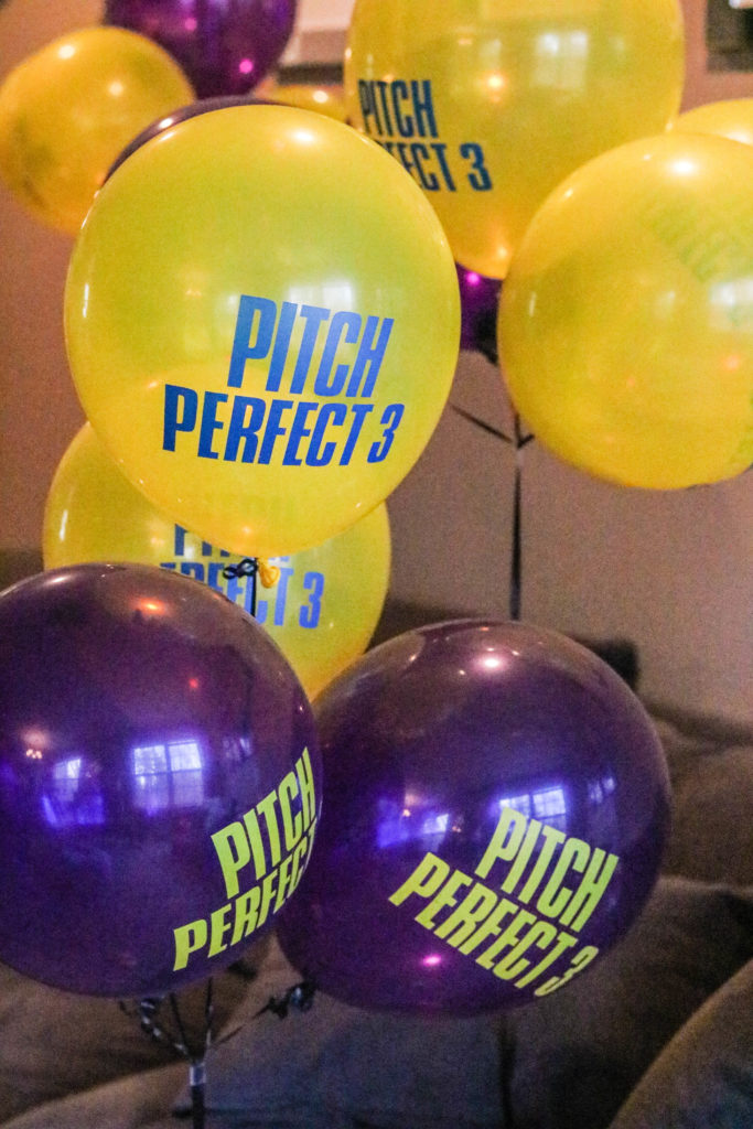 CURRENTLY...Pitch Perfect 3 #PitchesNightIn Launch Party!
