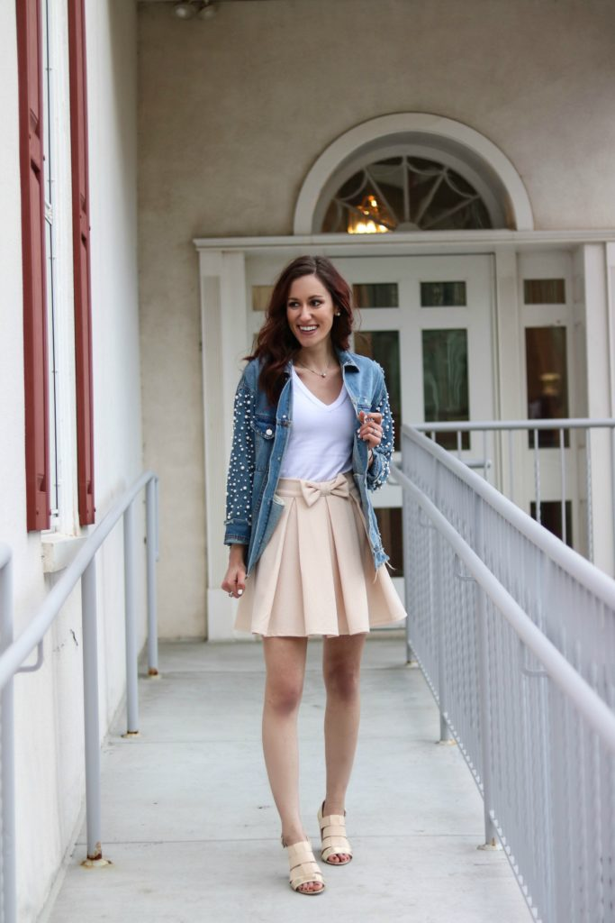 10 Things I'm Practicing + My Favorite Spring Outfit styled by popular Philadelphia fashion blogger, Coming Up Roses