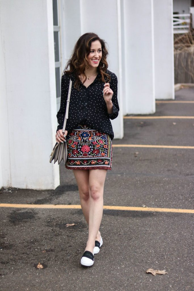 The 5 Cardinal Rules of Print Mixing for Spring by popular Philadelphia fashion blogger Coming Up Roses