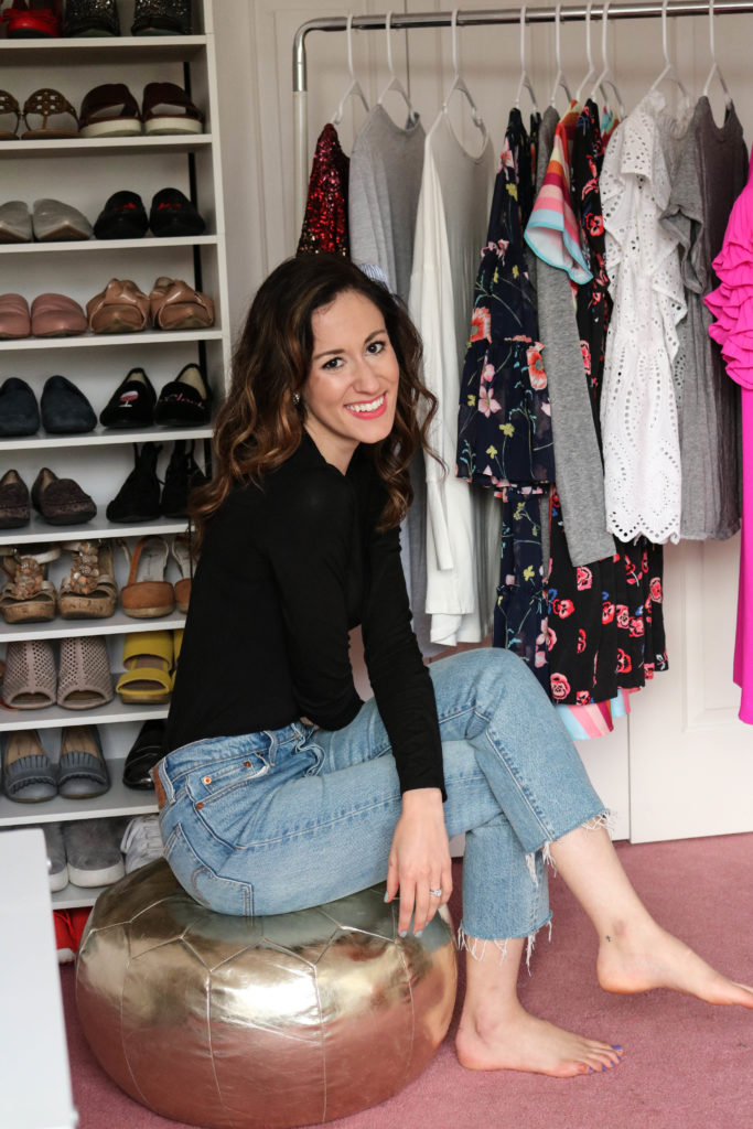Spring Cleaning your Closet - 9 Questions to Ask to Spring Clean your Closet by popular Philadelphia lifestyle blogger Coming Up Roses