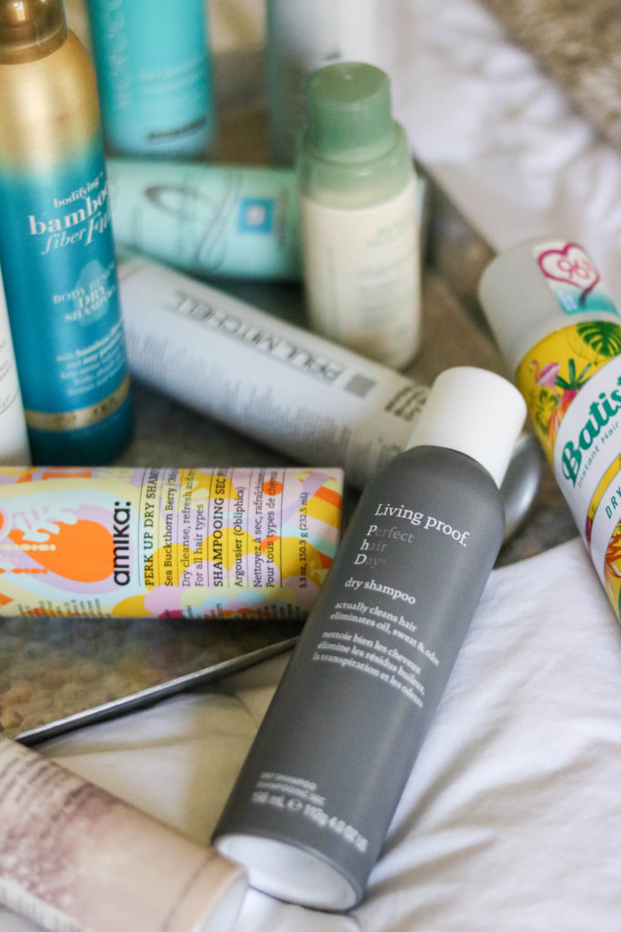 The Best Dry Shampoo Guide 2.0 - For Blondes AND Brunettes! - featured by popular Philadelphia beauty blogger Coming Up Roses