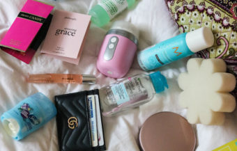What's in my Travel Bag: 10 Travel-size Products I Don't Leave Home Without
