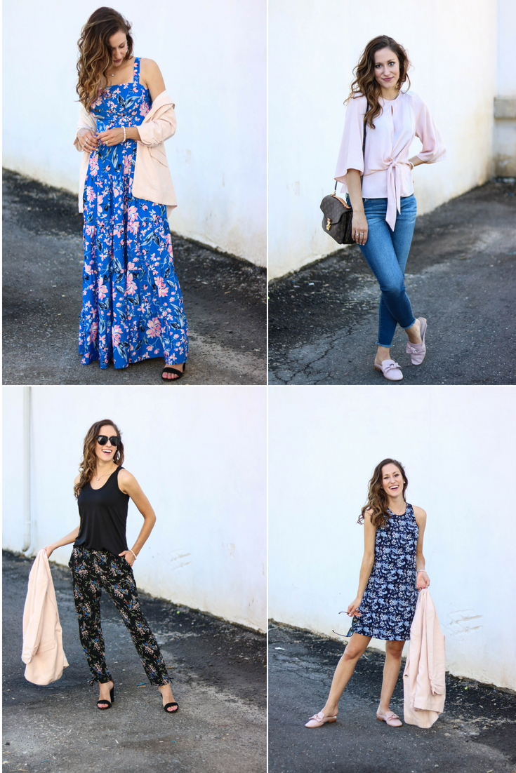 The Ultimate Summer Workwear Capsule Wardrobe - 16 pieces, endless outfit options! Philadelphia style blogger, Erica of Coming Up Roses, is styling 16 classic, work-appropriate pieces enough ways to last you all season long and then some.