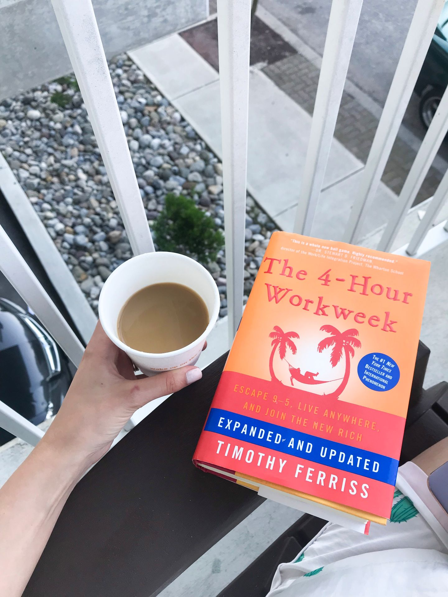 On Dreamlining your Life - Lessons from The 4 Hour Workweek by TIm Ferriss, from Philadelphia lifestyle blogger Erica of Coming Up Roses