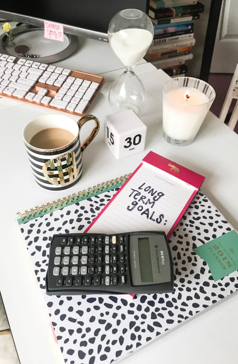 Mastering Your Big Girl Budget (Part 2: The Long Term Budget)