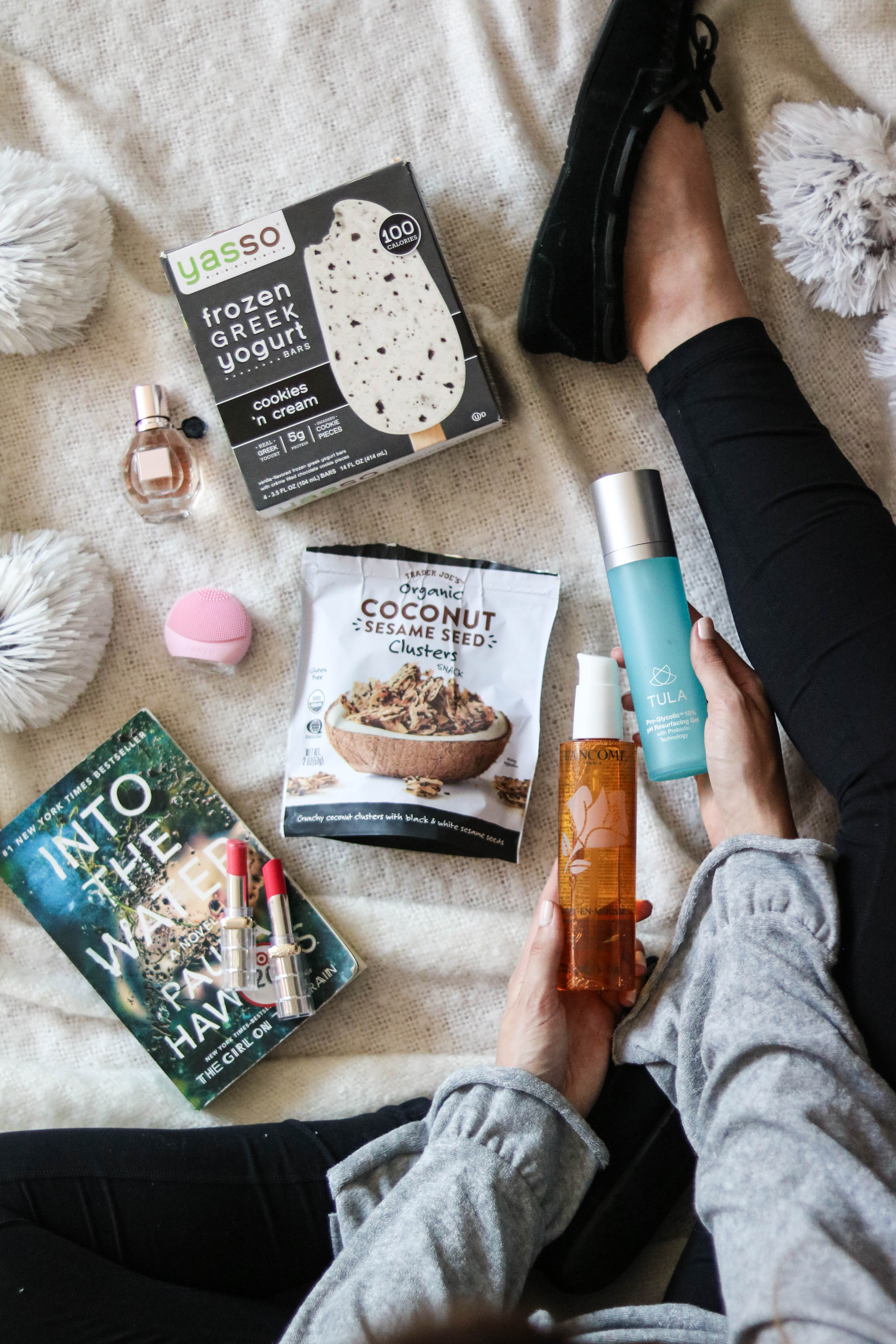 Cool Sh*t I Lovelovelove - Monthly Favorites, August 2018 - Yasso Greek Yogurt bars, FOREO Luna Go, Flowerbomb, Tula pH Re-Surfacing Gel, L'Oreal lipstick, + MORE