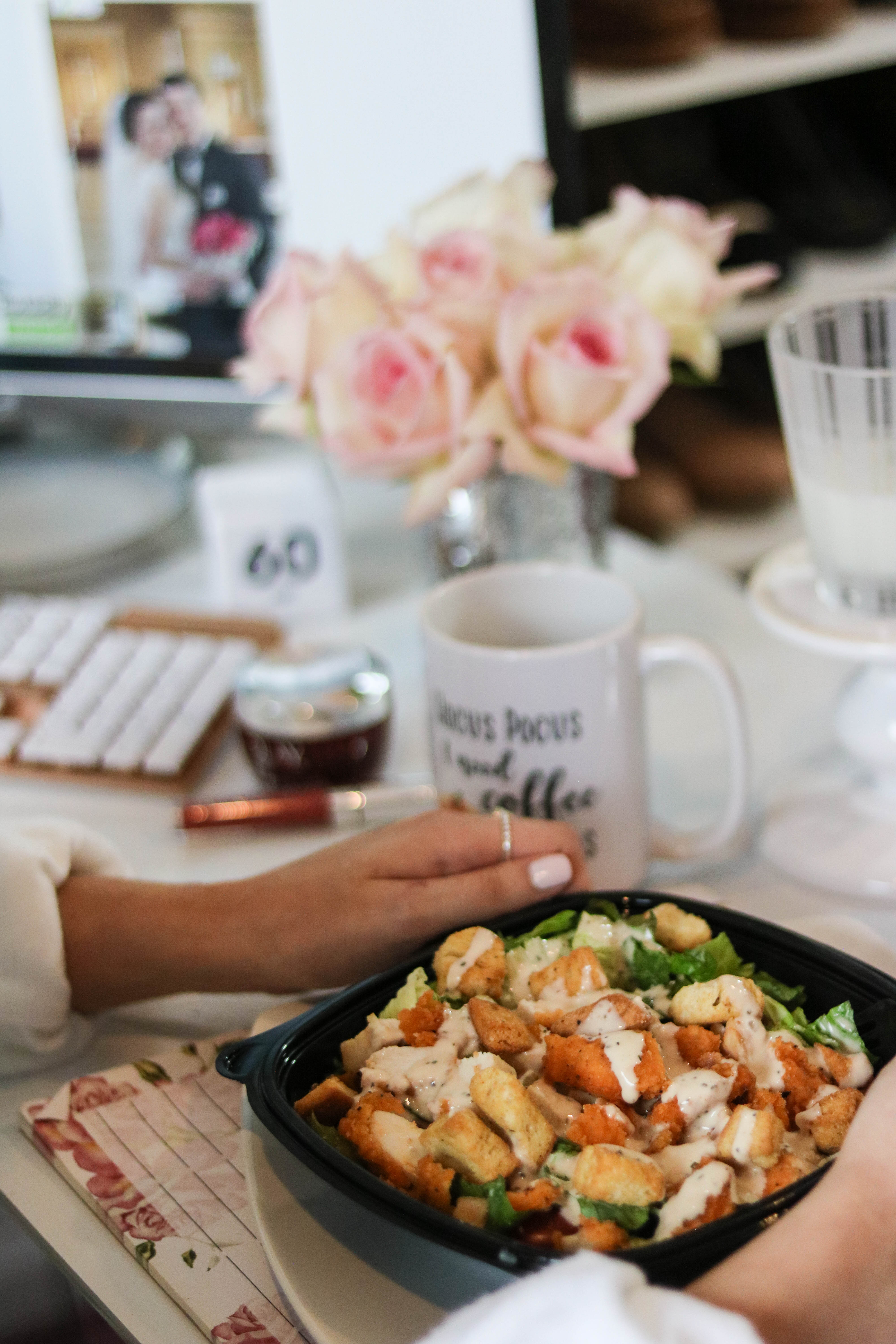 Cool Sh*t I Lovelovelove - Monthly Favorites on Coming Up Roses - Wendy's Spicy Chicken Caesar Salad