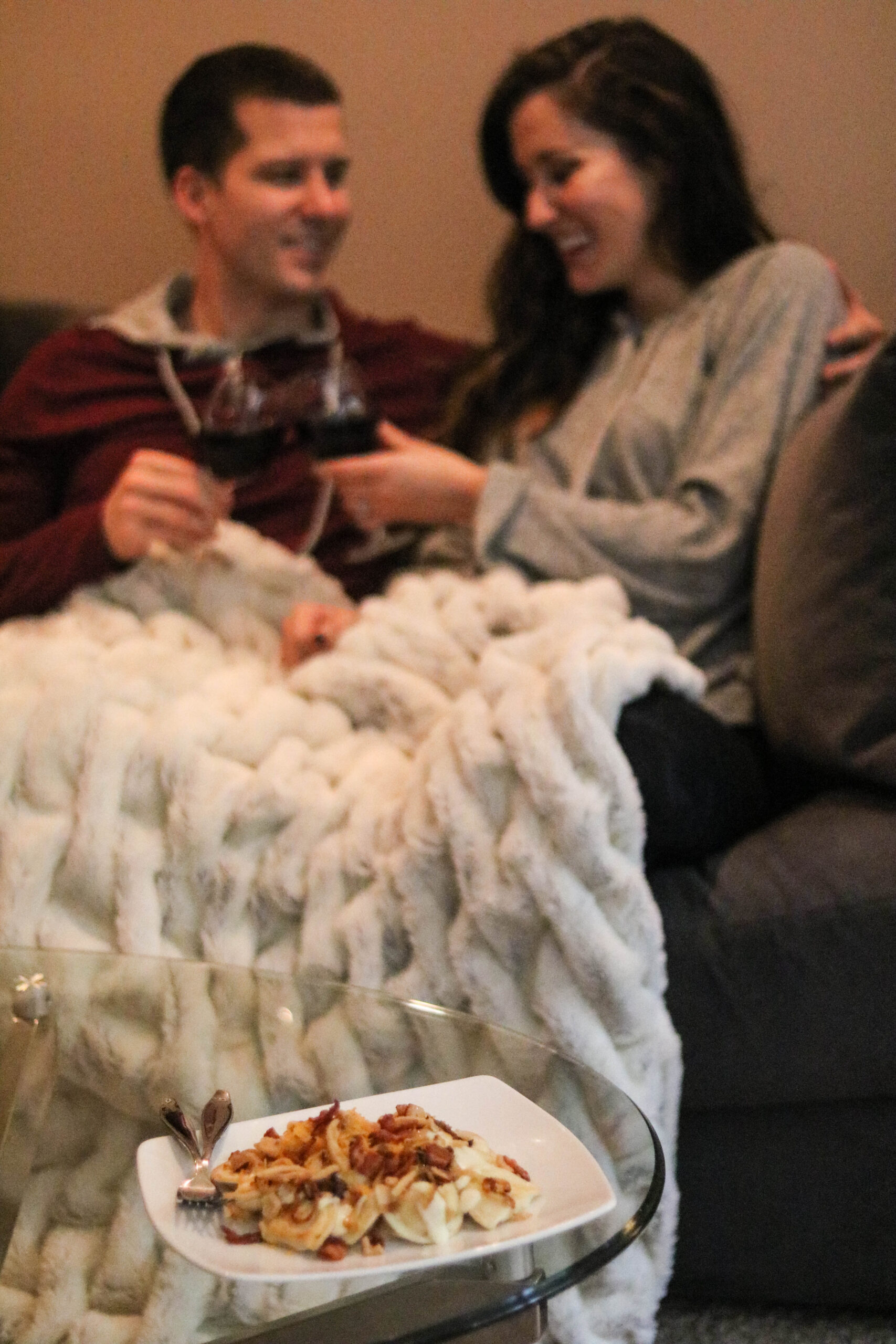 Easy Comfort Food + Playlist for a Cozy Date Night In