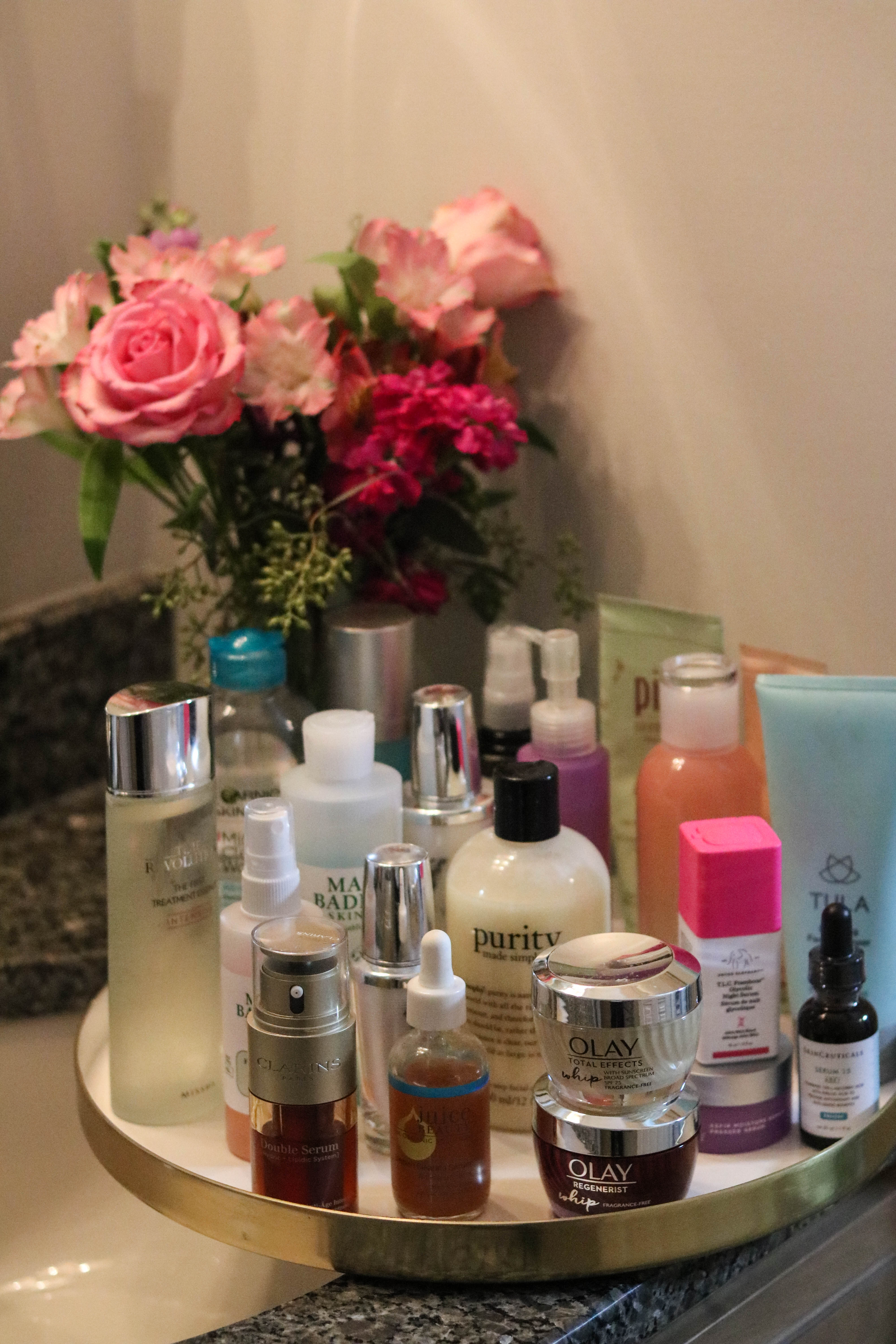 The *Correct* Order to Apply your Skincare Products - with Olay on Coming Up Roses