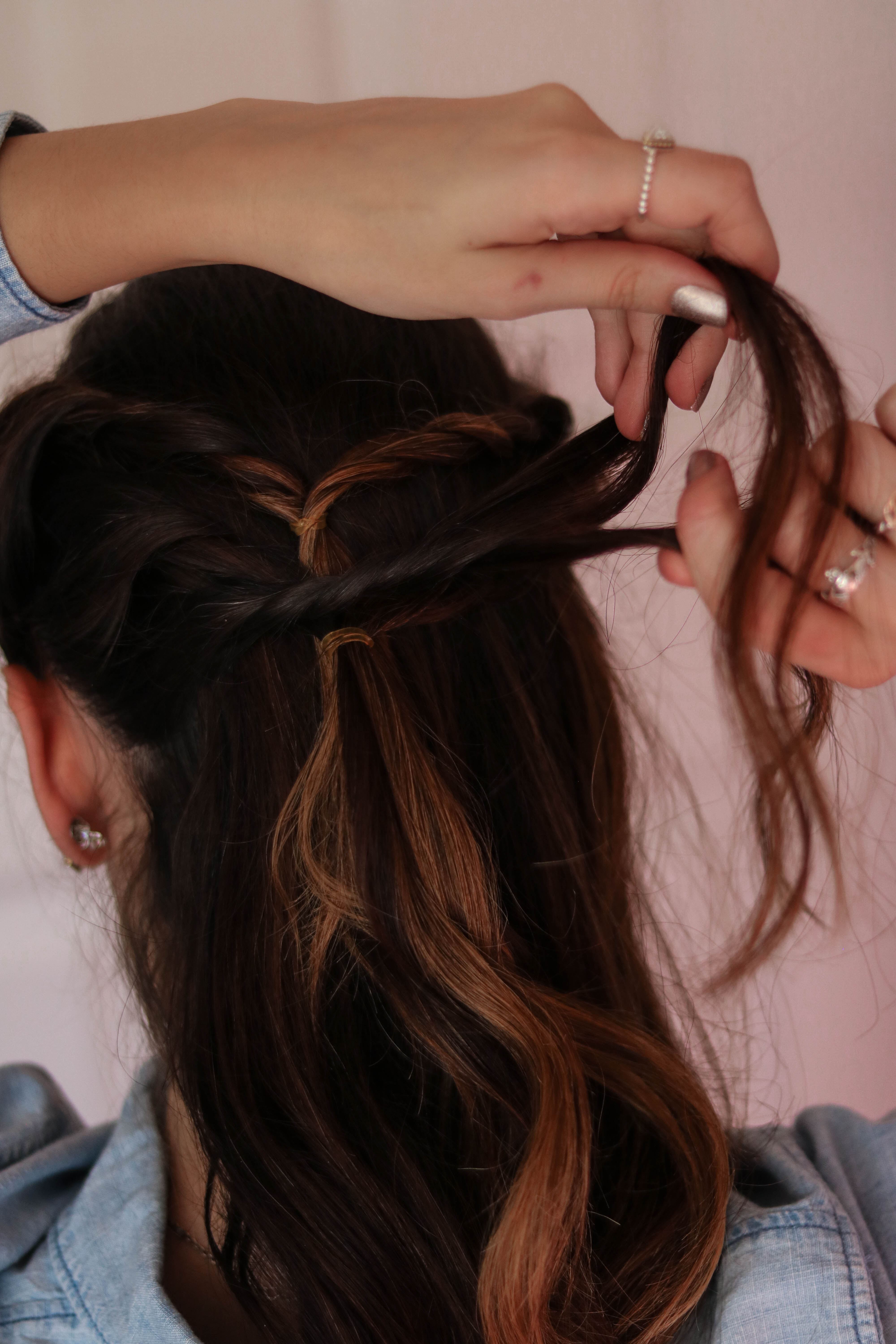 Two EASY, Effortless Holiday Hairstyles with Goody - on Coming Up Roses
