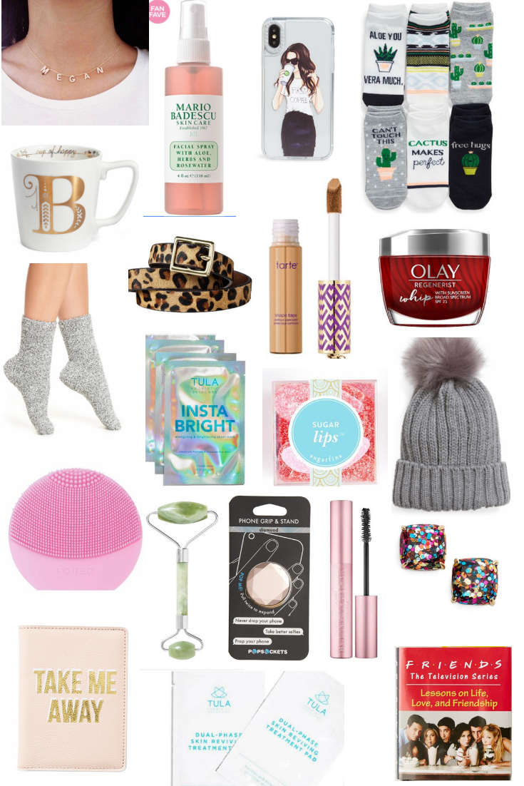 GIFT GUIDE: Stocking Stuffers for HER - 30+ Stocking Stuffers for her stocking this year!