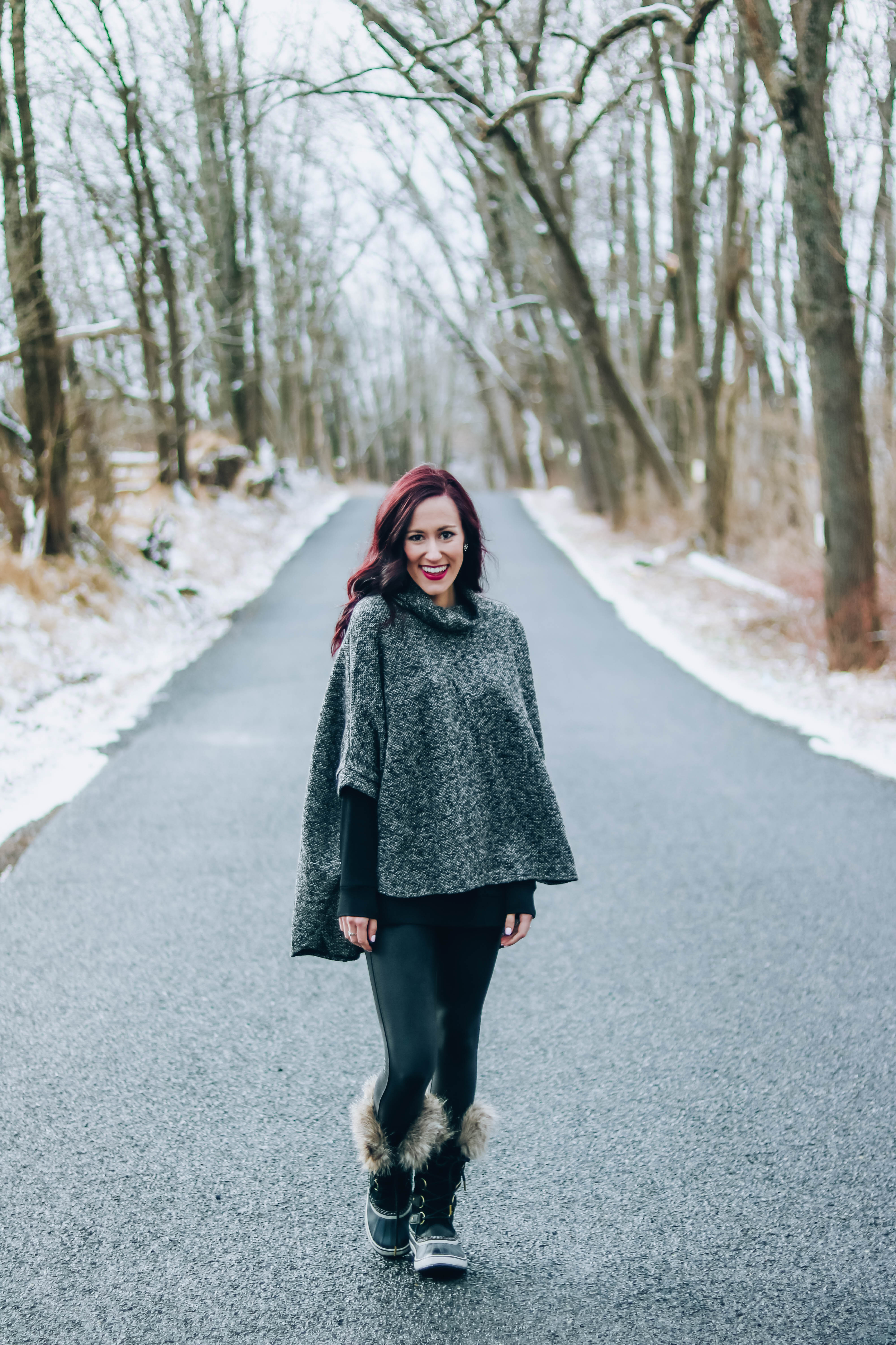 Snow Day Chic + some Life Updates