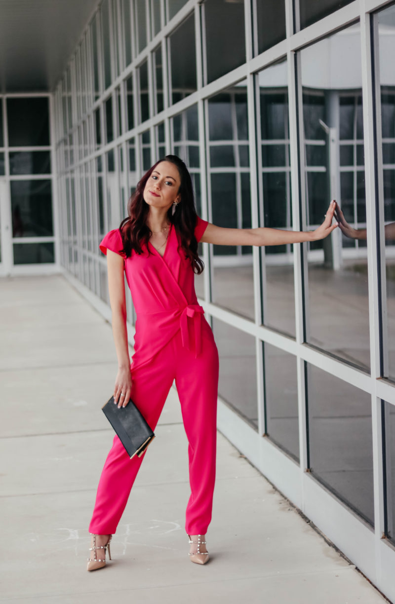 Spring's Hottest Jumpsuit - Pink Jumpsuit for Work, Weddings, + Everything in Between!