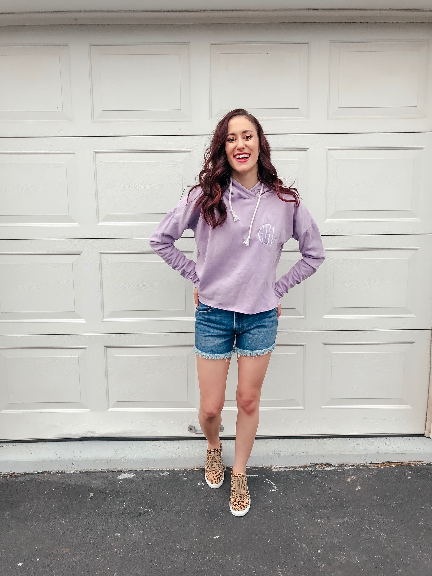 Tips on Styling Sweatshirts for Spring on Coming Up Roses