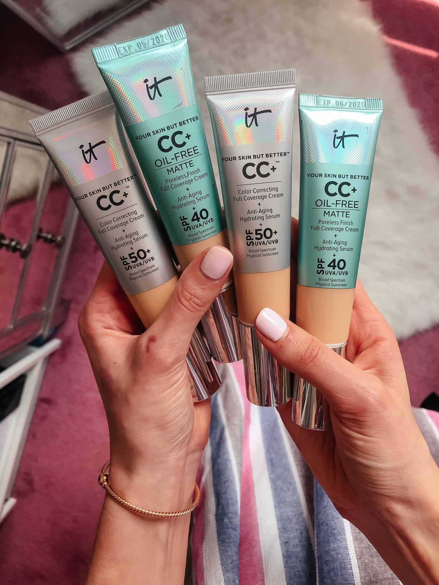 It Cosmetics CC+ Cream with SPF 50 - Cool Sh*t I Lovelovelove, Monthly Favorites on Coming Up Roses