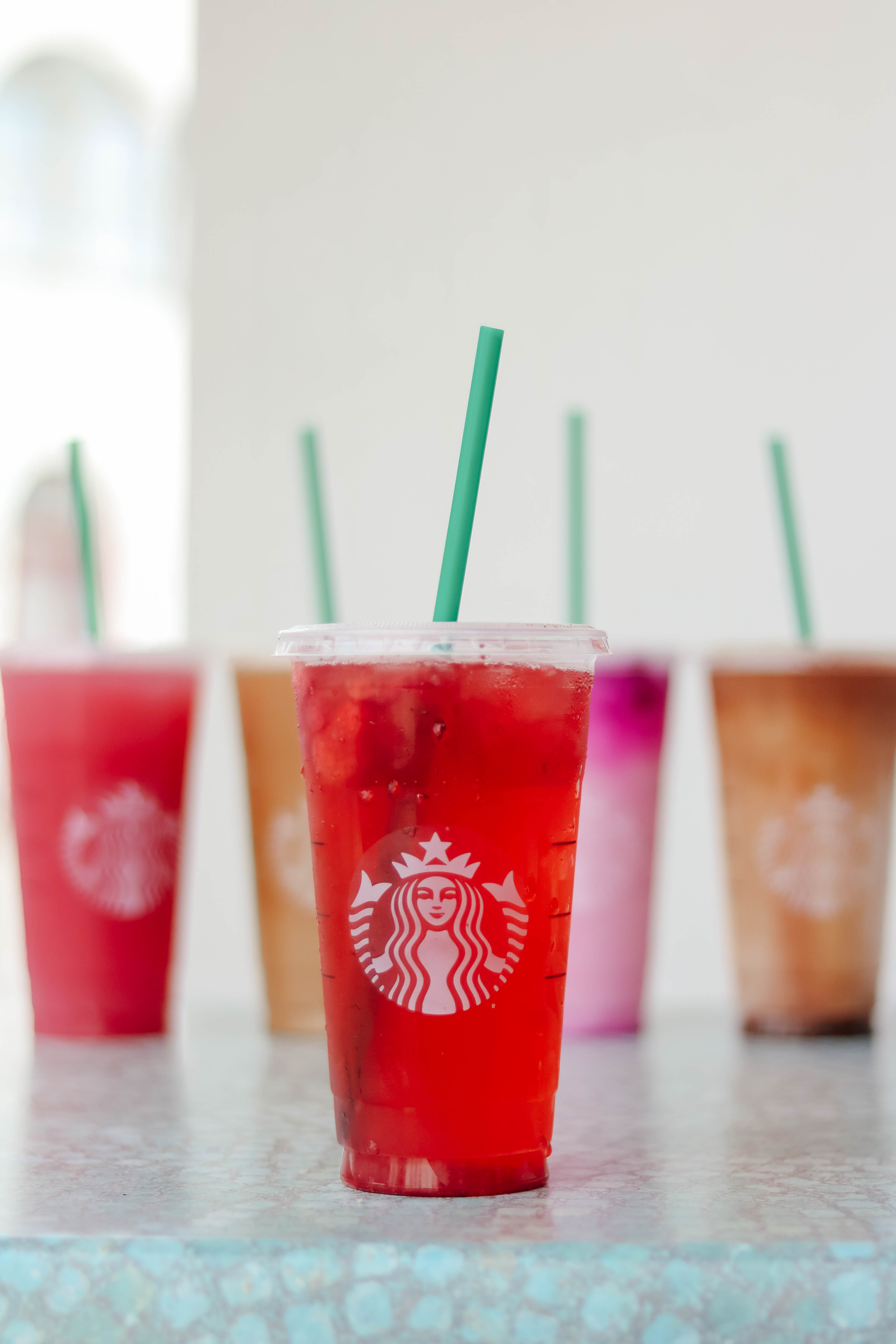 5 Refreshing Starbucks Drinks - Yummy drinks for summer, and how to specifically ask for them at Starbucks! on Coming Up Roses