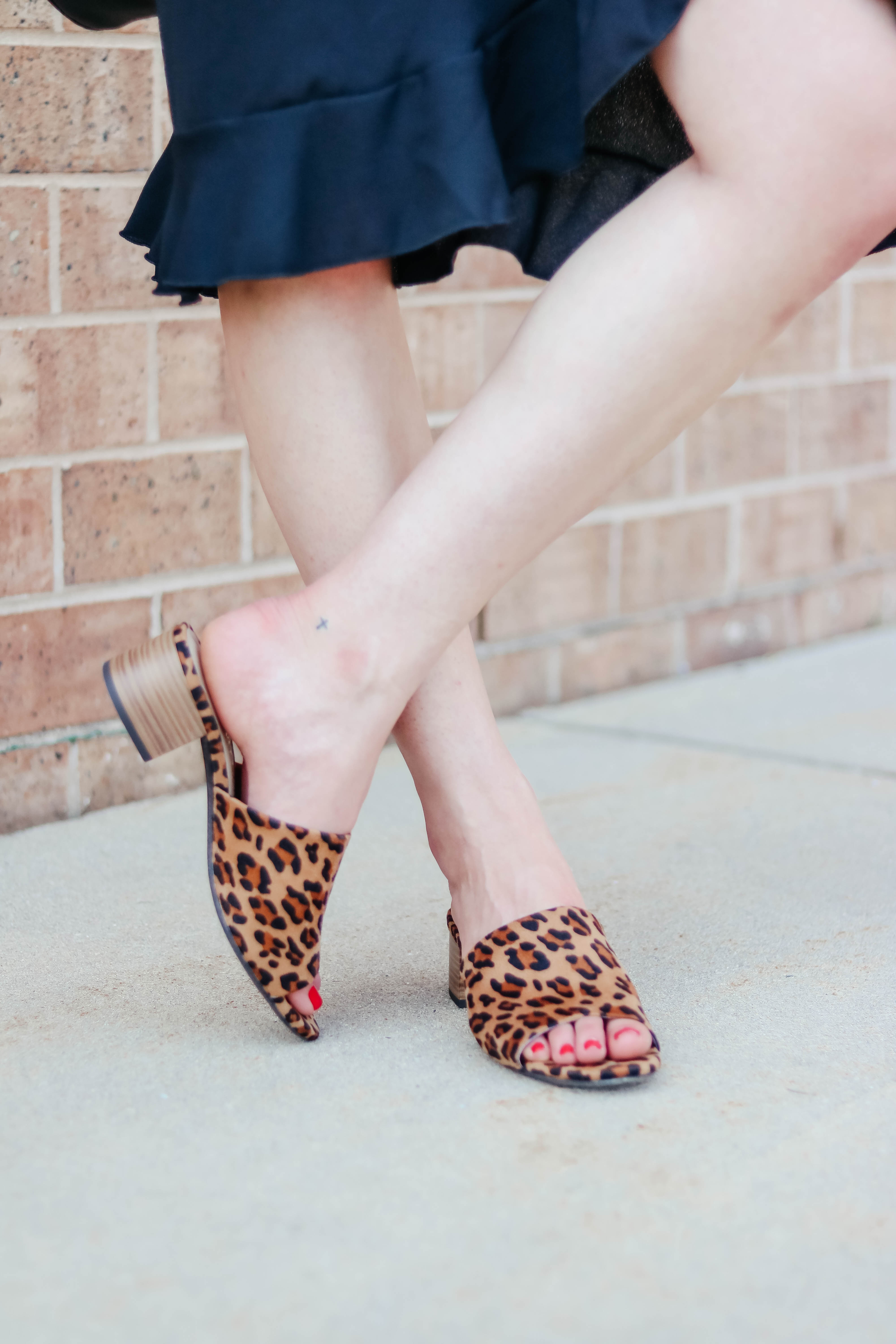 LEOPARD SHOES UNDER $30 - 3 Summer Takes on the LBD (EACH UNDER $20!!!) - and you won't believe the retailer!!! - on Coming Up Roses