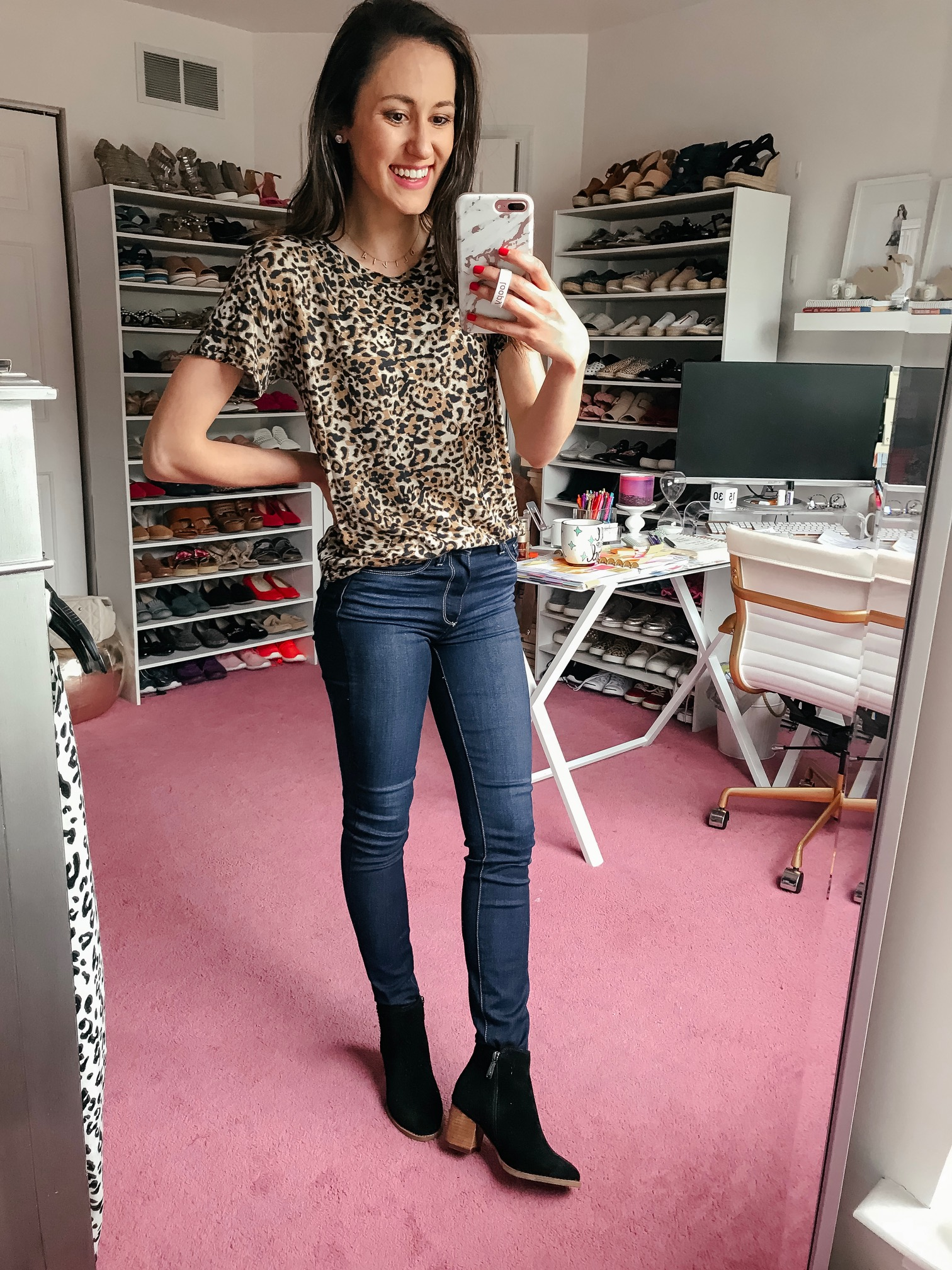 The Nordstrom Anniversary Sale is here! leopard tee