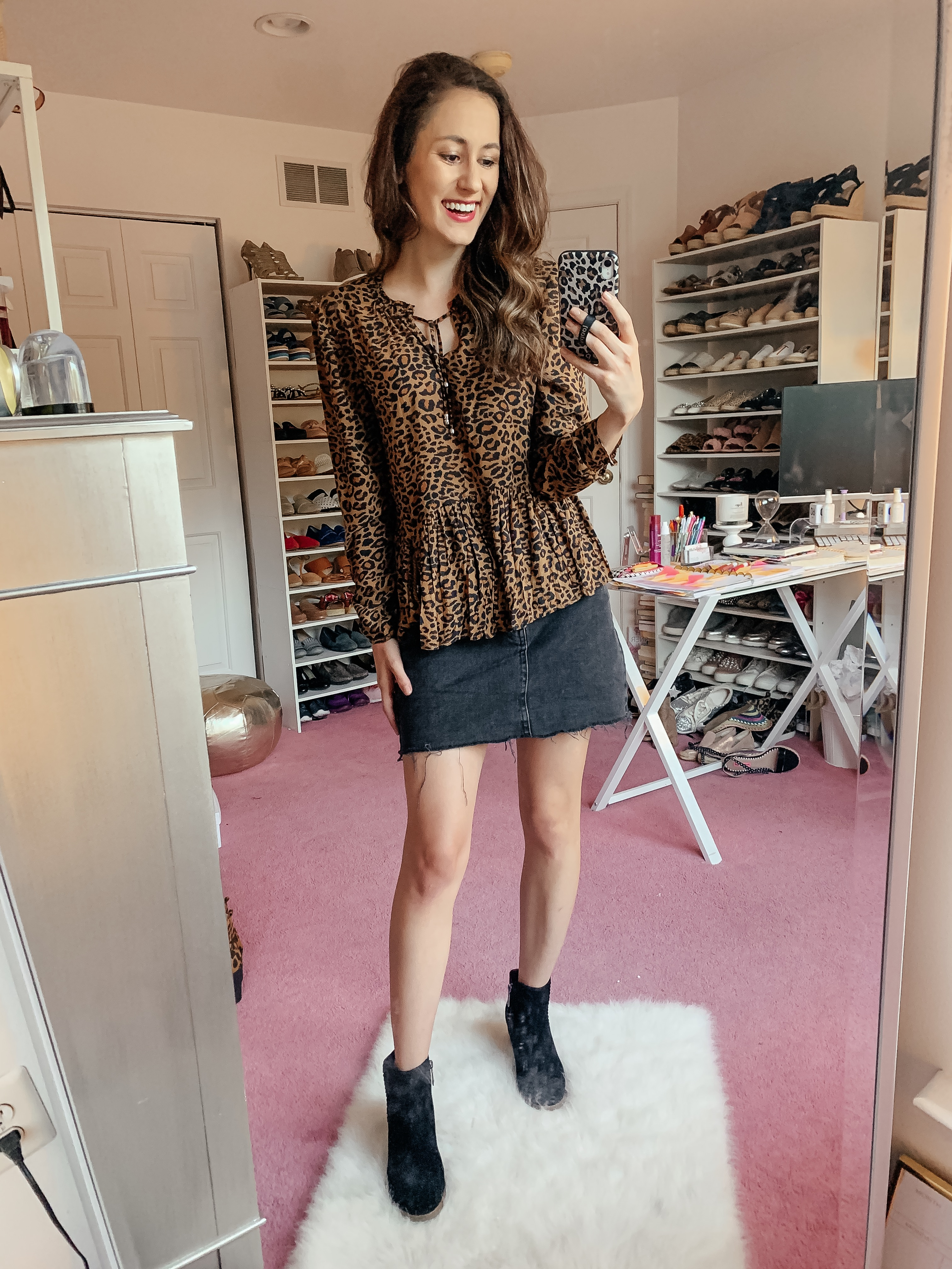 WALMART FALL HAUL - Everything under $35!!! - casual leopard fall outfit on Coming Up Roses