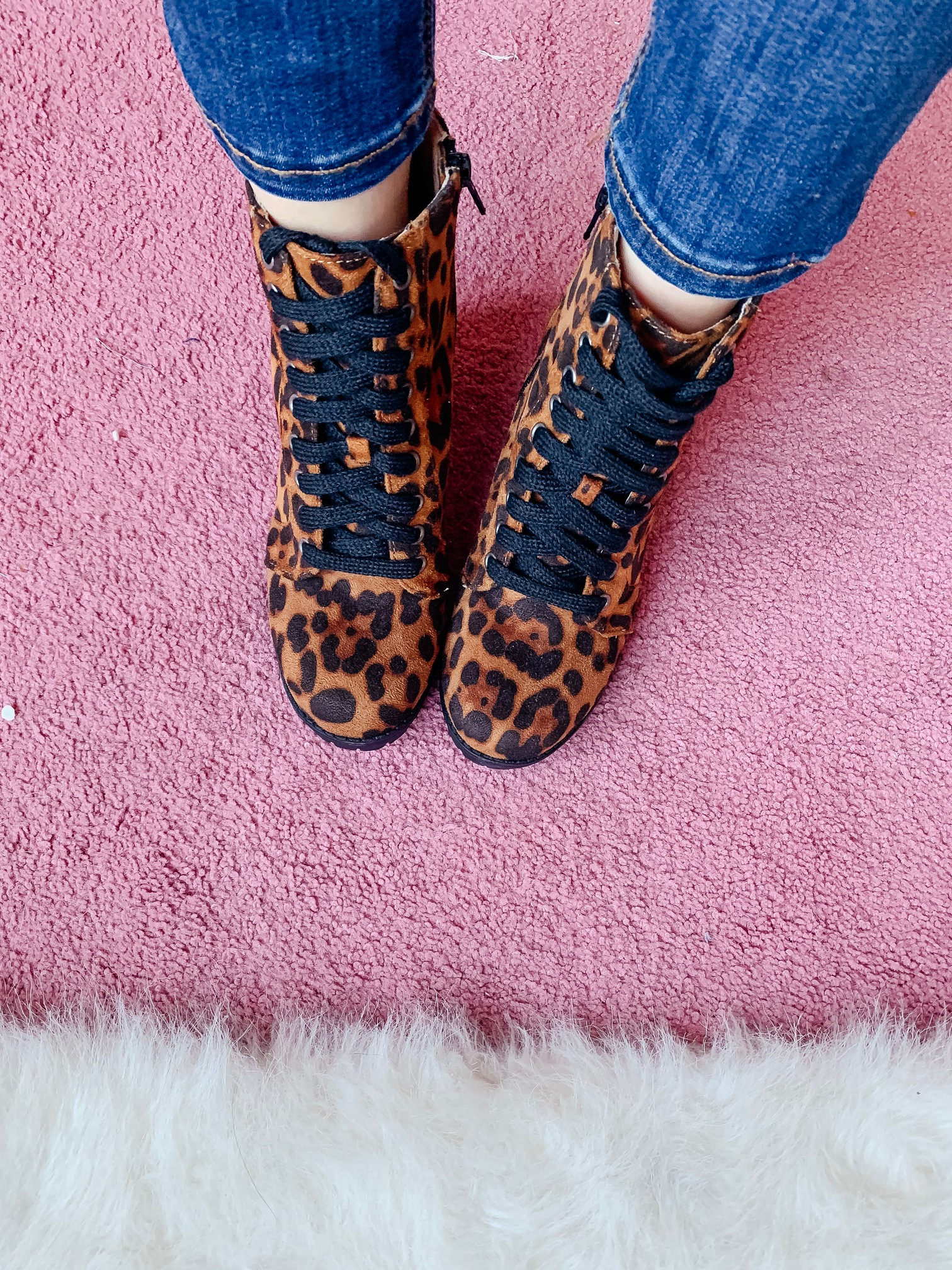 WALMART FALL HAUL - Everything under $35!!! - Leopard booties on Coming Up Roses