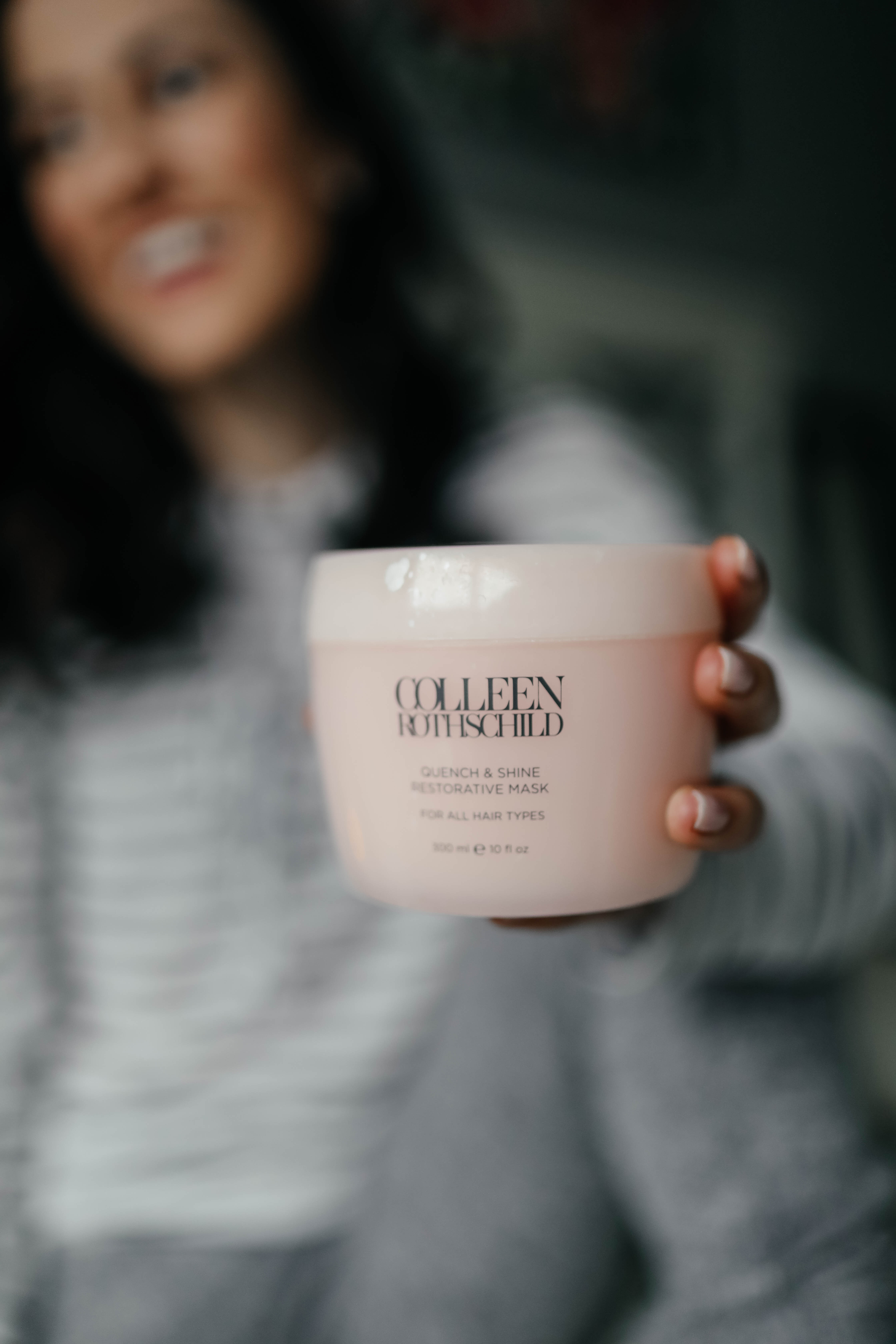 Colleen Rothschild Quen & Restore Hair Mask - - Colleen Rothschild Intensive Hydrating Mask - colleen rotschild restorative hand cream - 7 Shifts to your Skin + Hair Routines to Stay Hydrated this Season on Coming Up Roses - Colleen Rothschild SALE