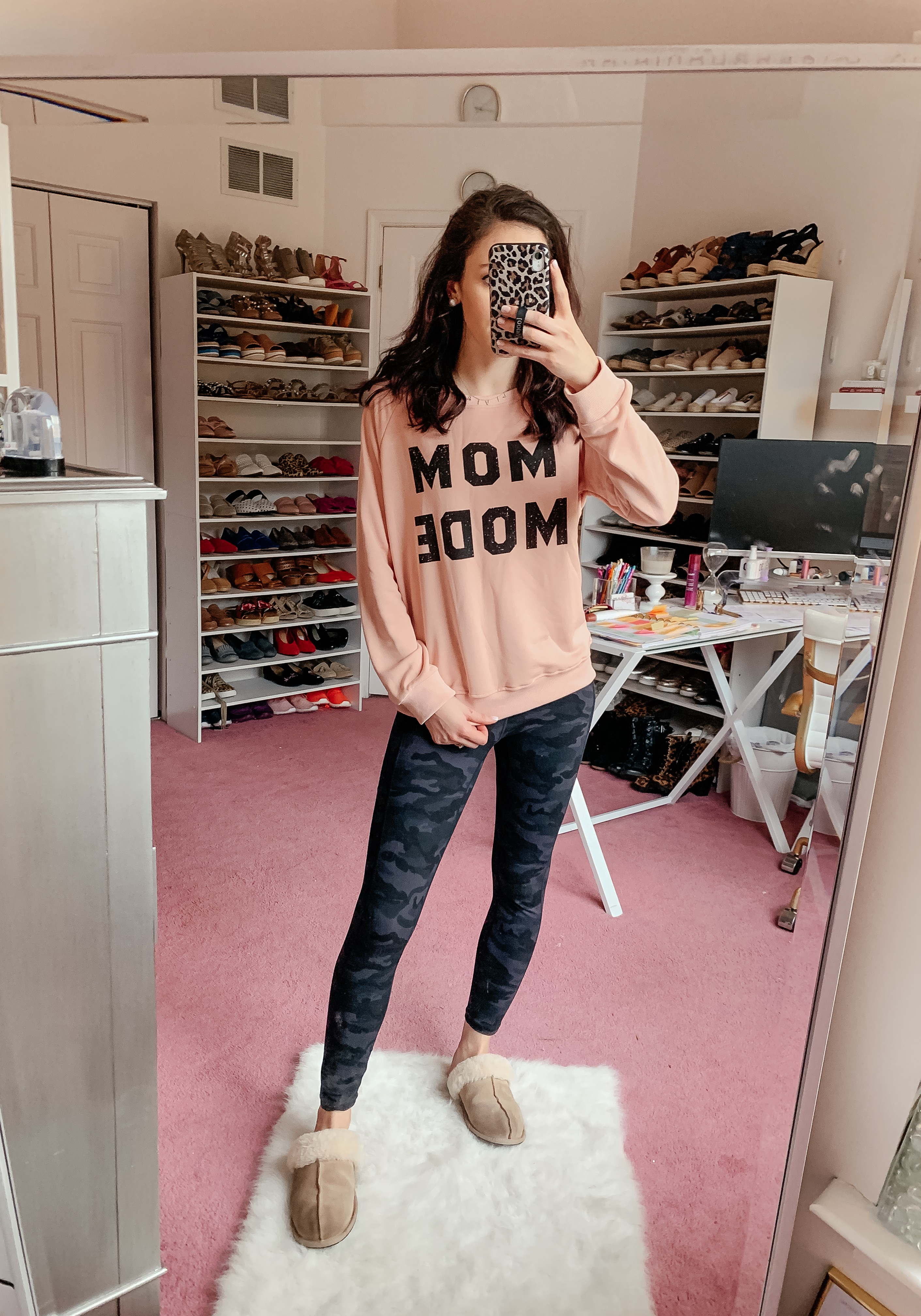 Mom Mode Sweatshirt - AMAZON FALL HAUL try-on on Coming Up Roses