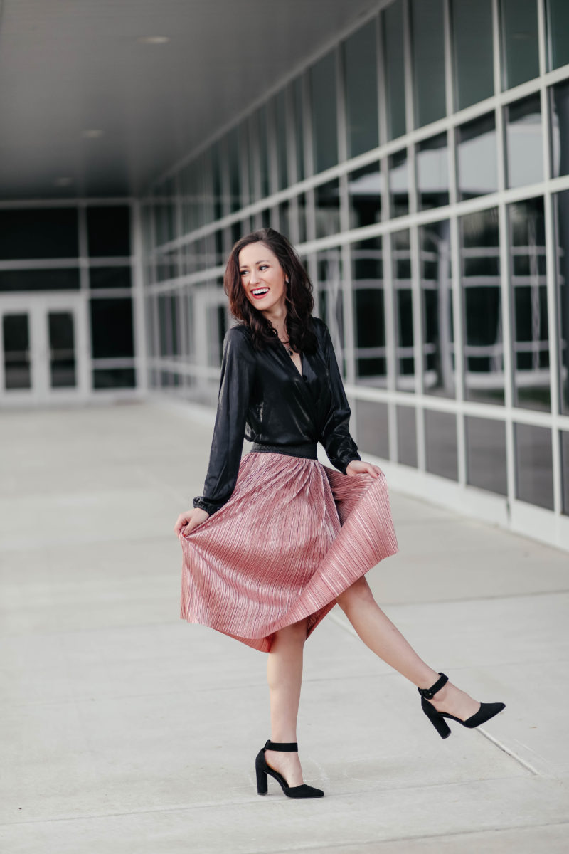 Sparkle & Shine: An AFFORDABLE Holiday Outfit (Under $80 Total!)