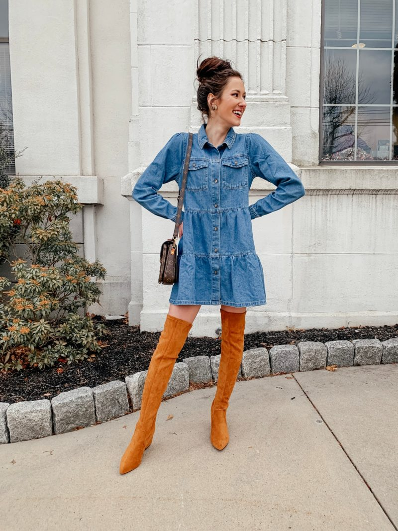 LOOK FOR LESS: Goodnight Macaroon Over-the-Knee Boots