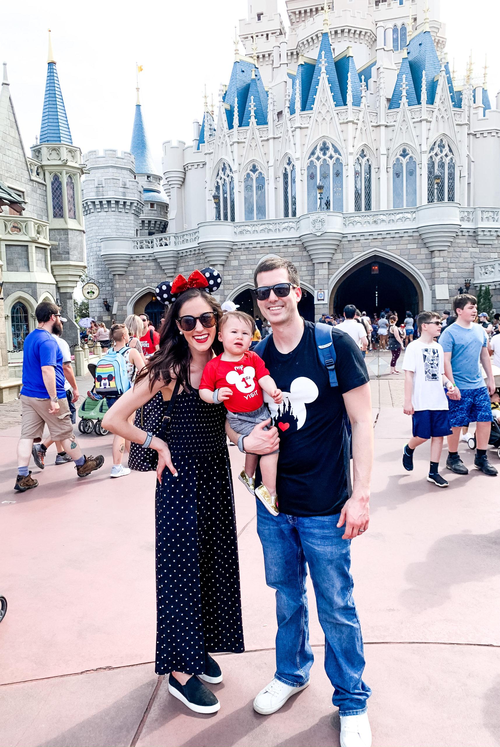 A Full Recap of #DisneyCreatorDays - 7 Days at Disney World and on a Disney Cruise! - Cinderella's Castle in Magic Kingdom
