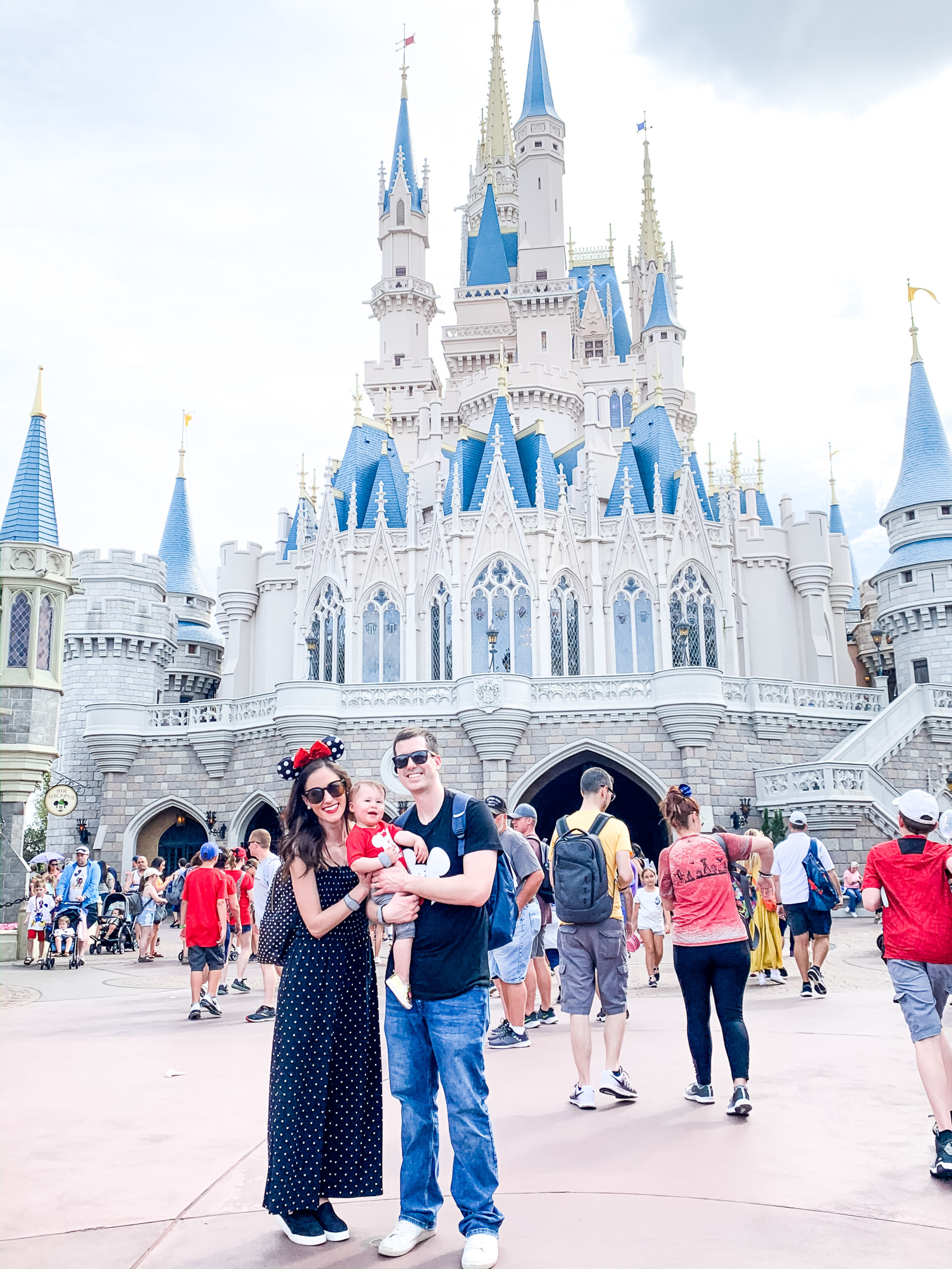 A Full Recap of #DisneyCreatorDays - 7 Days at Disney World and on a Disney Cruise! - Cinderella's Castle in Magic Kingdom