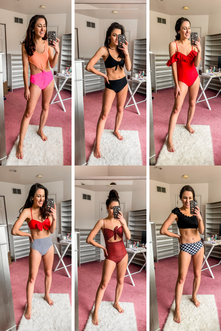 2020 SWIMSUIT HAUL: 11 Affordable, Comfortable, More Modest Swimsuits - on Coming Up Roses