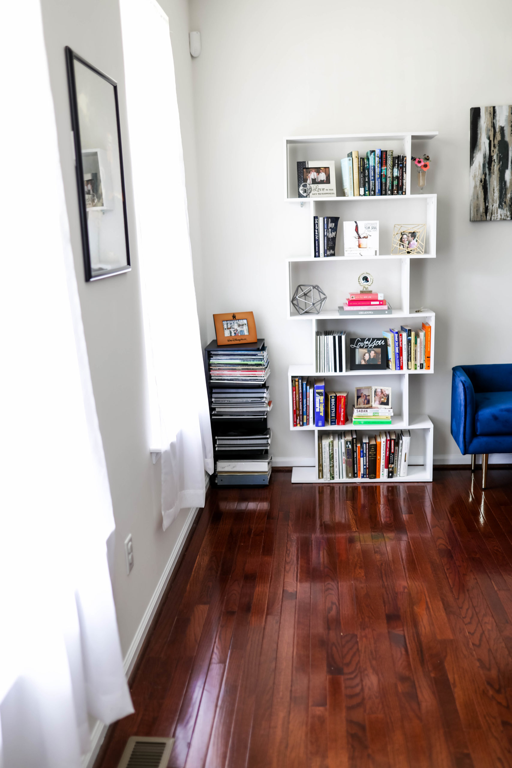 home library home tour