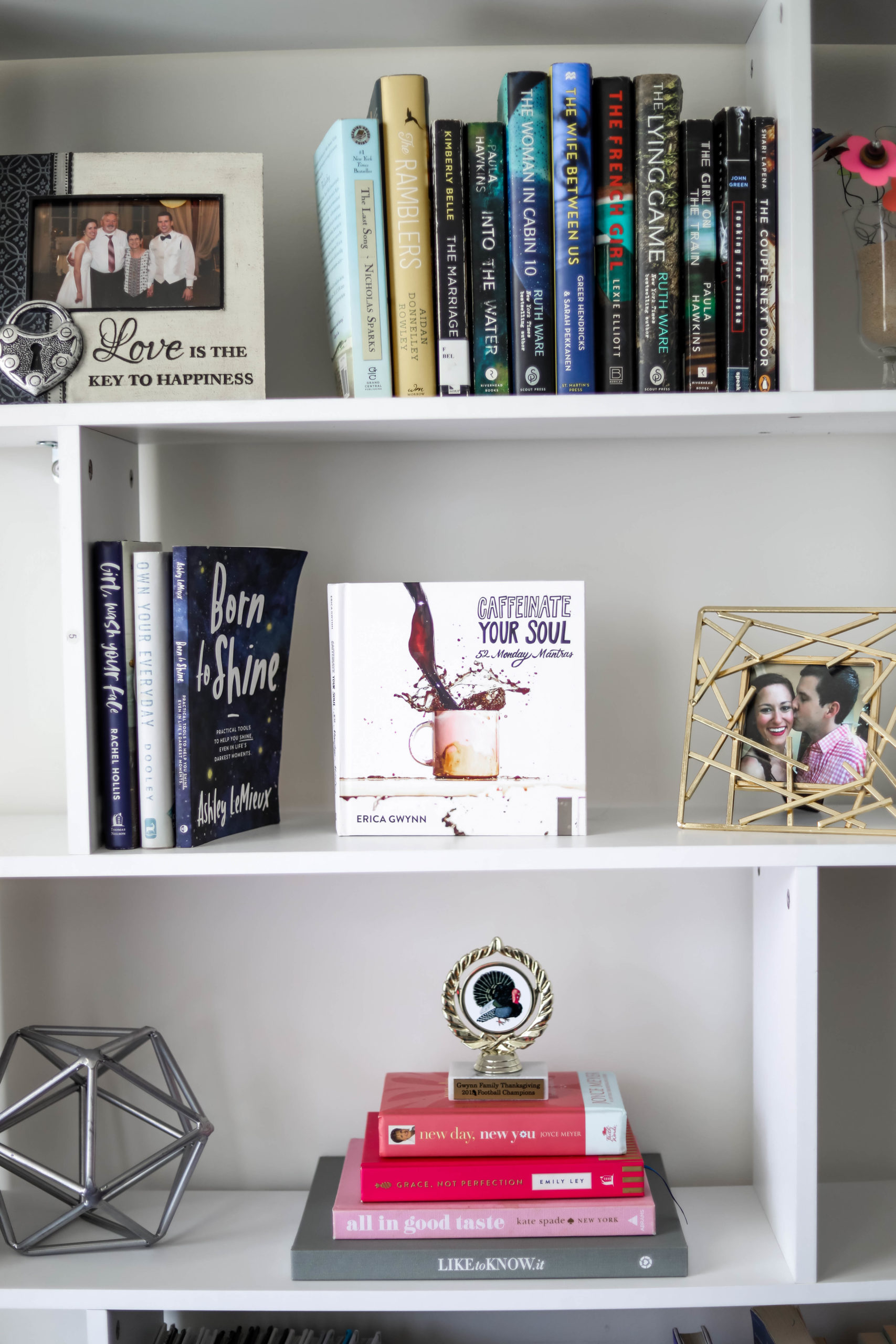 in home library shelving