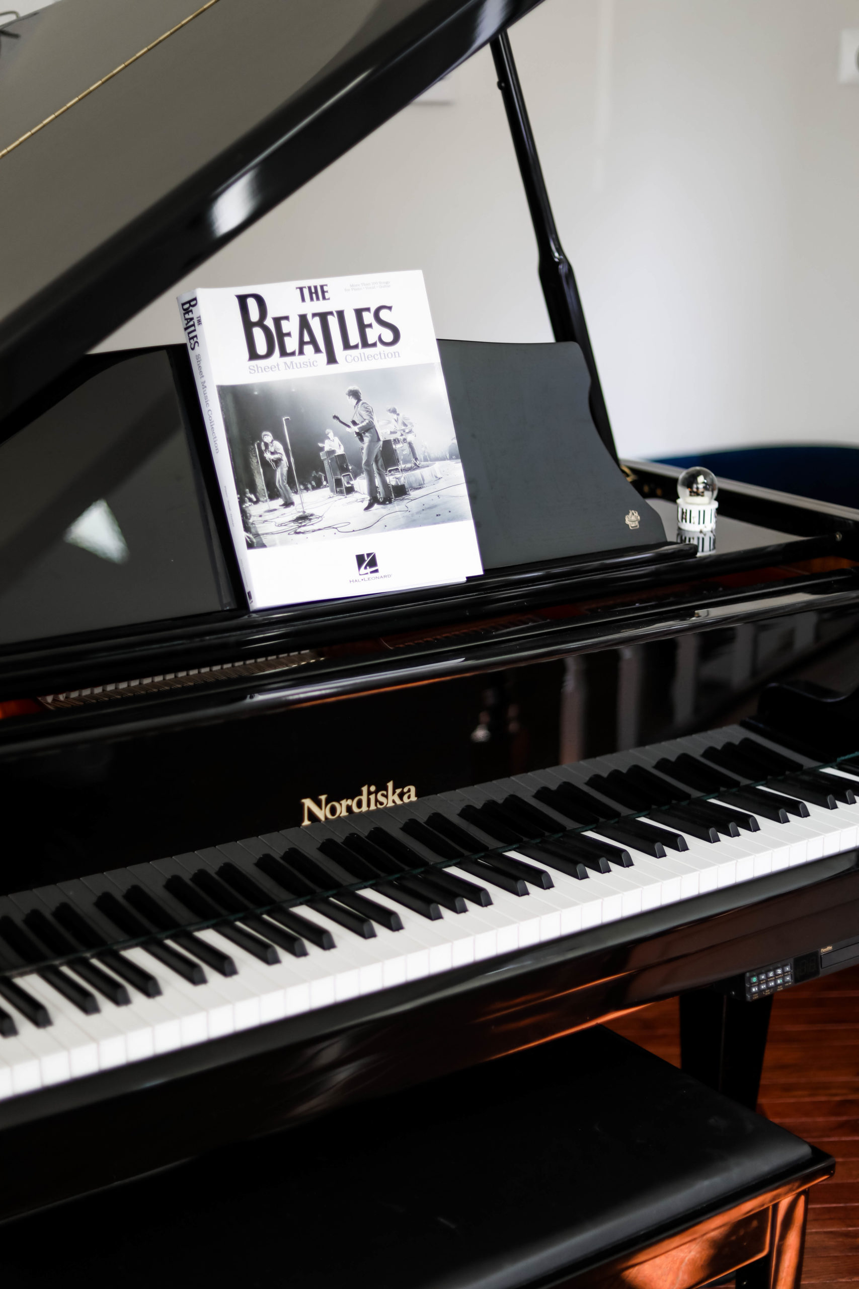 Beatles Book on piano