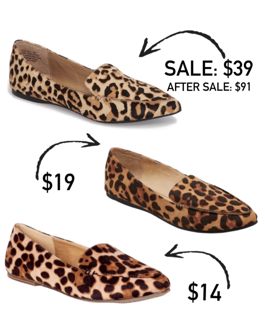 Leopard Flats Look for Less