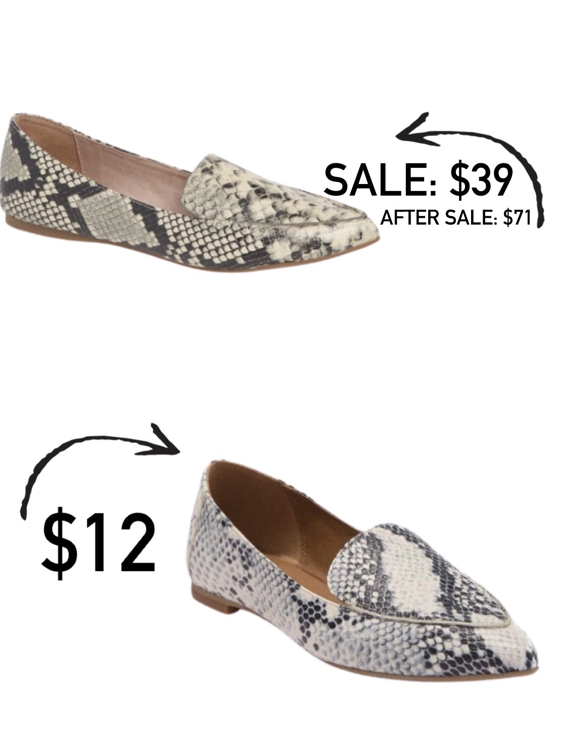 Steve Madden Feather Loafer Look for Less