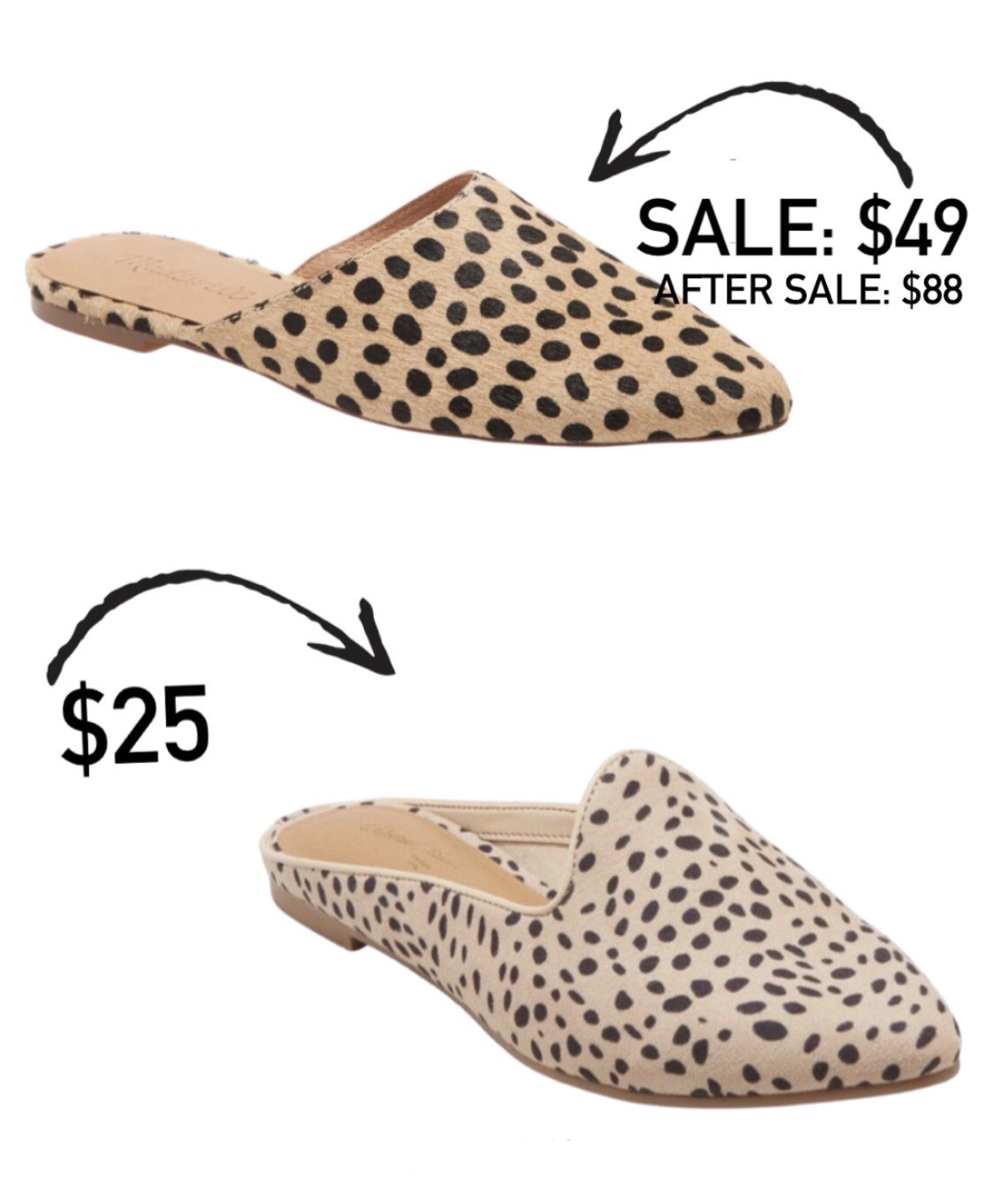 Madewell Mules Splurge vs Save